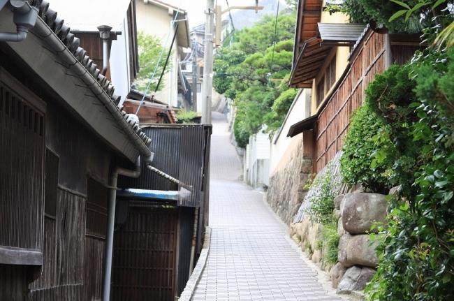 尾道の坂道⑤