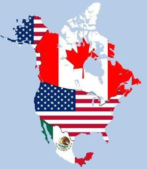 01 300 NAFTA map
