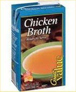 02c 250 200712 Chicken Broth goods