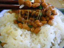 01 250 納豆 on rice