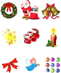 02c 250 Xmas ornaments