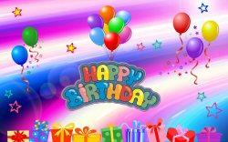 01b 250 balloons Happy Birthday