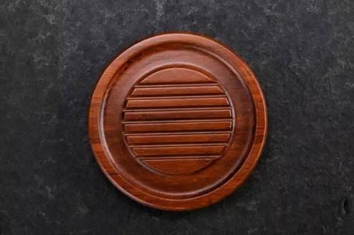 竹製茶船石臼型