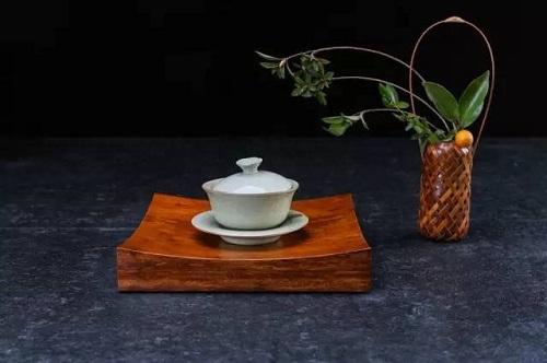 竹製茶船瓦型