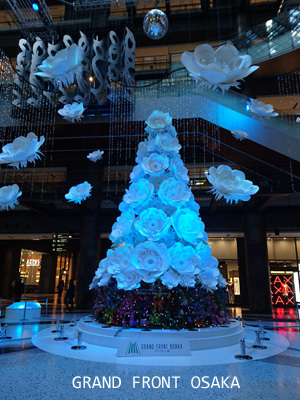 グランフロントのクリスマスツリー