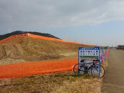 加古川堤防強化工事