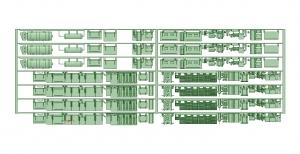2600床下機器タイプ1【武蔵模型工房 Nゲージ 鉄道模型】