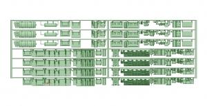 2600床下機器タイプ2【武蔵模型工房 Nゲージ 鉄道模型】