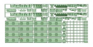 2600床下機器タイプ4 2621F【武蔵模型工房 Nゲージ 鉄道模型】