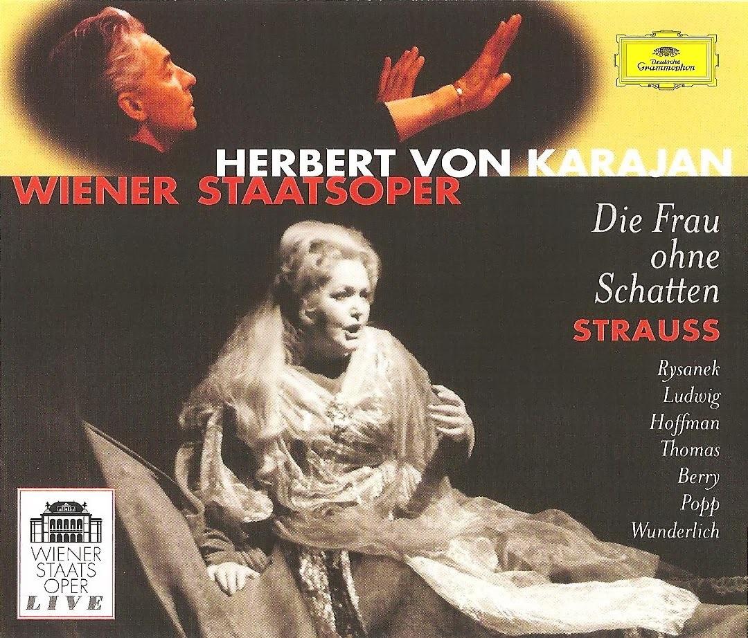 Strauss Die Frau Ohne Schatten Rysanek Thomas Ludwig Berry Popp Karajan