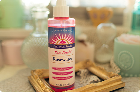 Heritage Products, Rosewater, Rose Petals(ローズウォーター)