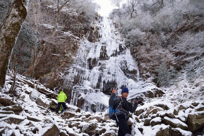 四王寺の滝 (6)