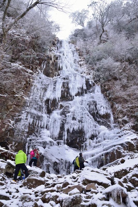四王寺の滝 (5)