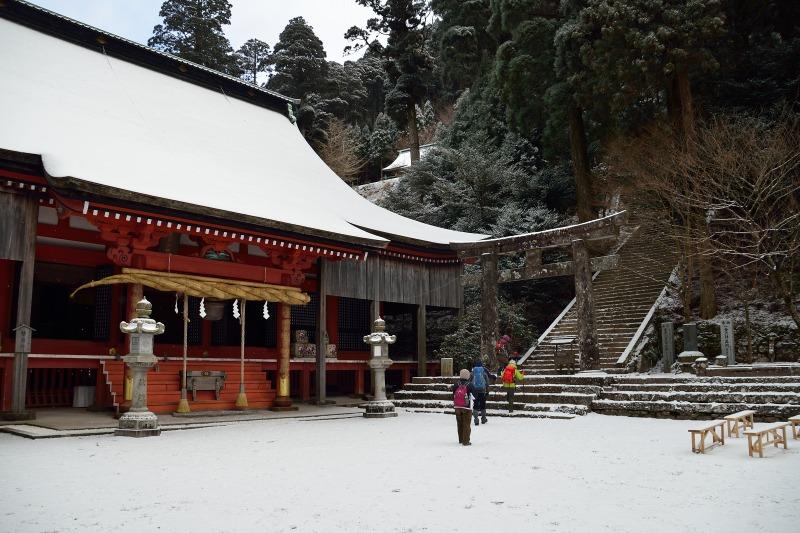 四王寺の滝 (2)