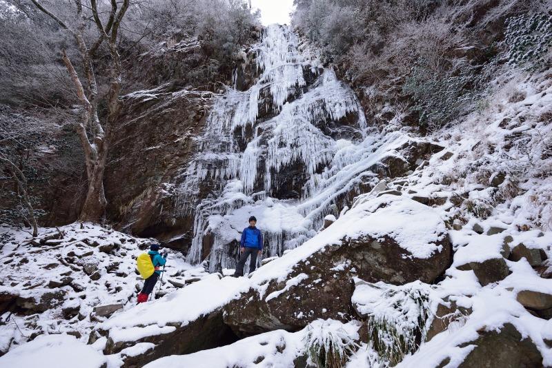 四王寺の滝 (10)