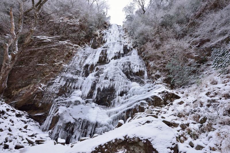 四王寺の滝 (8)
