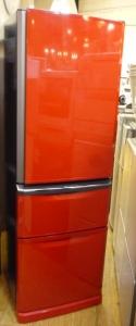三菱冷蔵庫レッド1