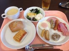 熊本駅前のホテルニューオータニ熊本のフォンタナ・ディ・オータニで朝食♪
