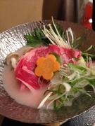 阿蘇市の内牧温泉・阿蘇プラザホテルのおいしい夕食♪