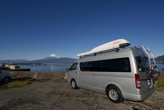 000富士山とハイエース