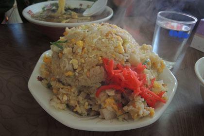 211南京亭の炒飯