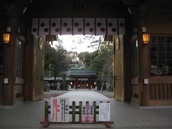 大國魂神社-本殿10