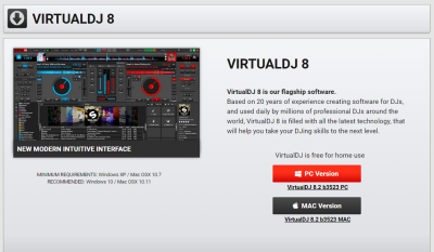 Virtual DJダウンロード
