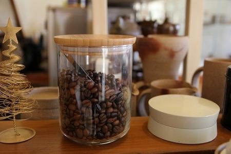 珈琲豆の容器をIKEAにて購入
