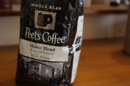 peet's coffeeの豆