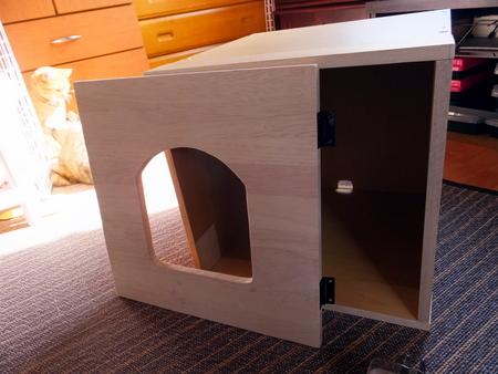 木製ハウス2号3