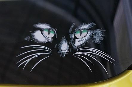 山猫ステッカー