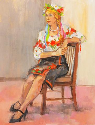 20161119 絵の会ウクライナの彼女
