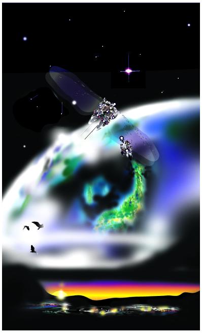 宇宙イメージ最終 バックなしB