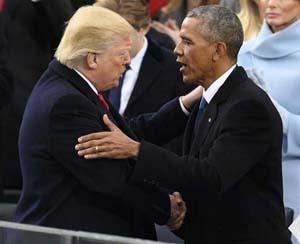 トランプ オバマ