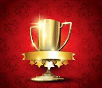 受賞カップ