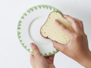 トースト型キッチンスポンジ