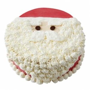 クリスマスアイスケーキ 白ひげサンタ