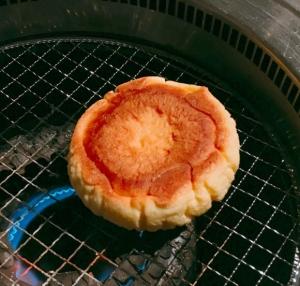メロンパン焼く
