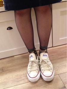 タイツと靴下