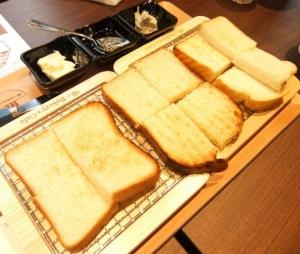 こだわりの食パン食べ比べ