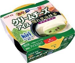 濃厚クリームチーズアイス隠れ宇治抹茶