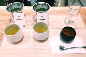 煎茶2種飲み比べ+お茶菓子