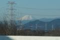 富士山関越道望む