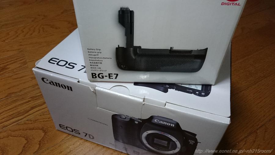 EOS 7D + BG-E7