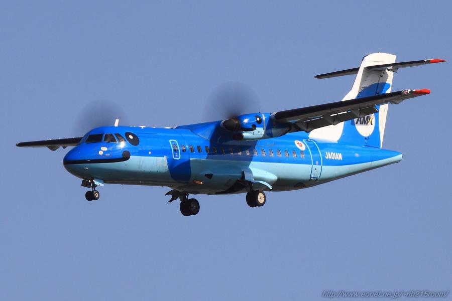 AMX ATR42-600 / JA01AM@スカイランドHARADA