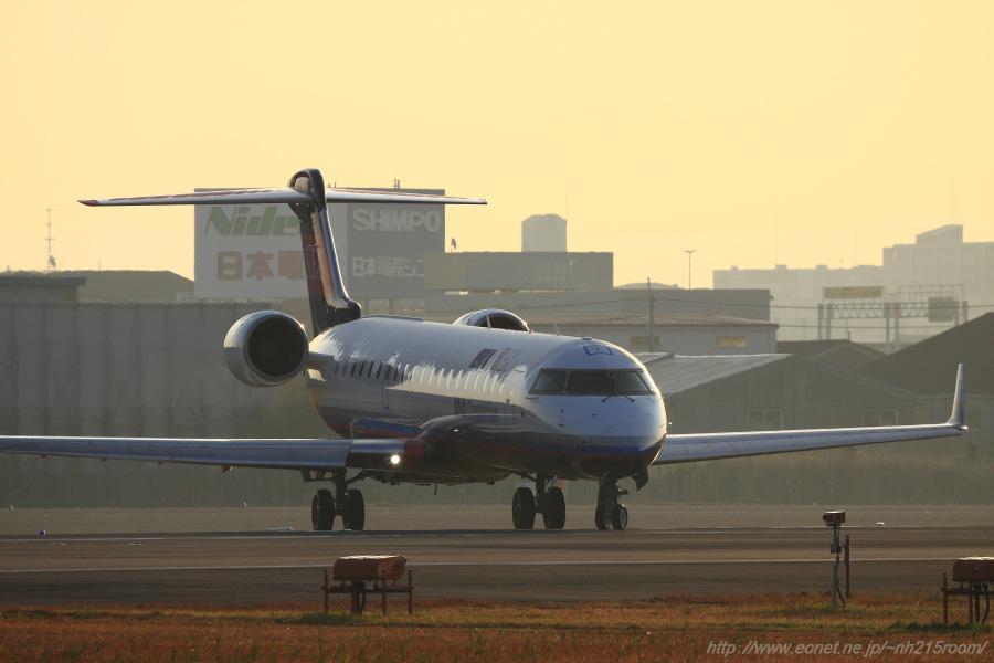 IBX CRJ-702ER / JA12RJ@スカイランドHARADA横お墓ポイント