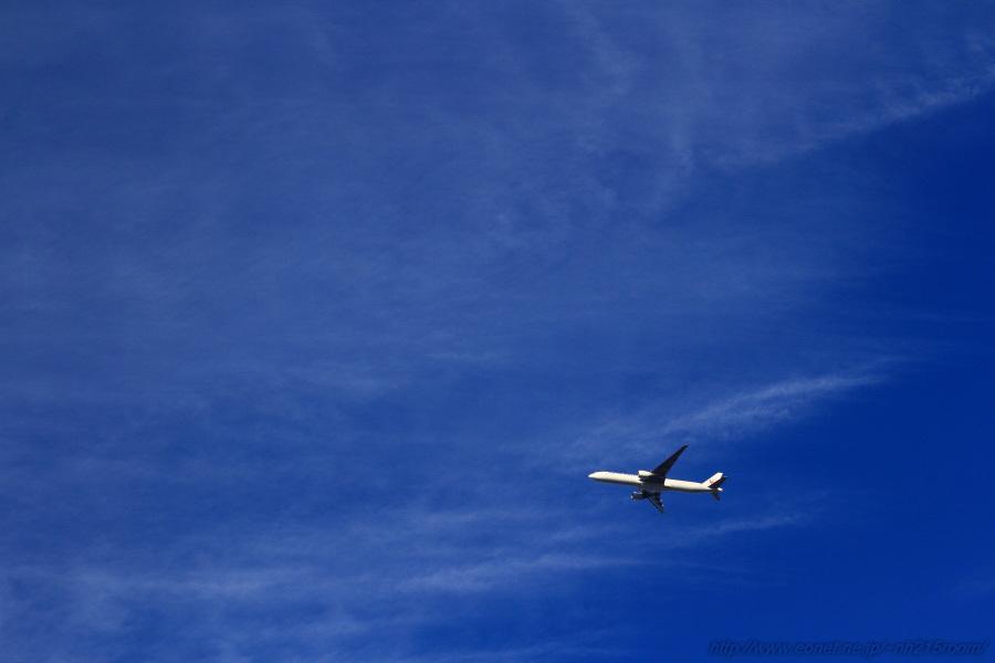 JAL B777-346ER / JA742J@自宅前