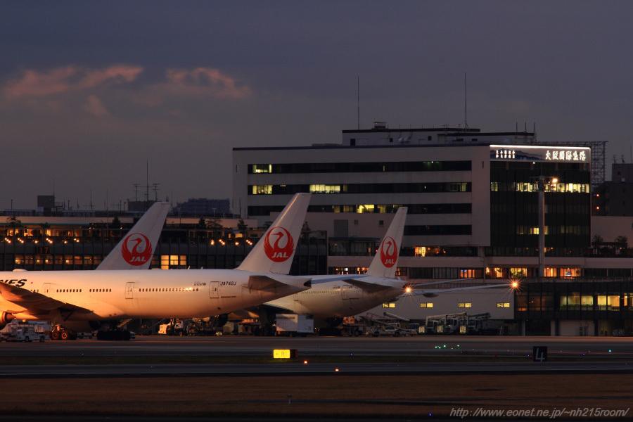 運航開始前の北側ランプ@猪名川土手