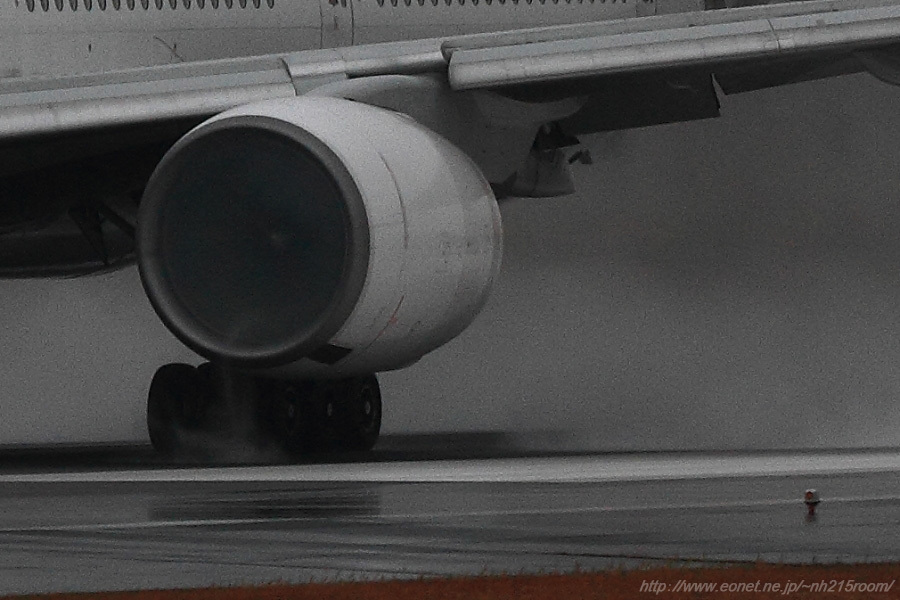 JAL B777-346 / JA752J@伊丹スカイパーク南駐車場