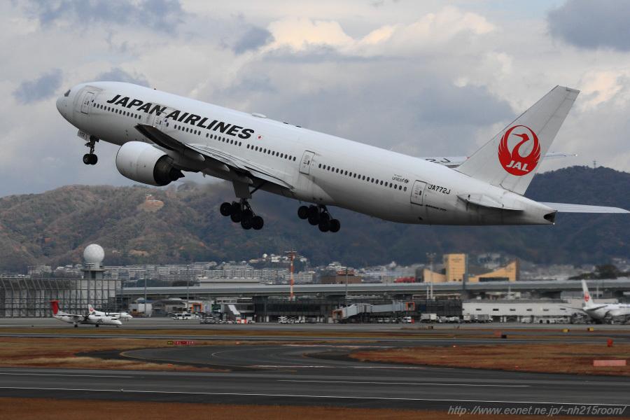 JAL B777-246 / JA772J@伊丹スカイパーク
